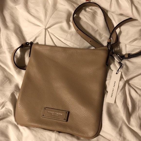 6500a96ef647 NWT Marc Jacobs Sandstone Crossbody Bag
